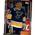 Curt Giles Gold Parallel 1992-93 Topps #202 Blues