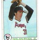Nolan Ryan Trading Card Single 1979 Topps #115 Angels NMMT+