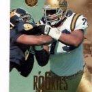 Jonathan Ogden RC Trading Card 1996 Fleer Ultra #175