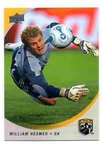 William Hesmer Trading Card Single 2008 Upper Deck MLS 17 Crew