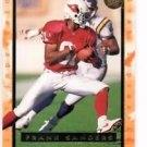 Frank Sanders Trading Card 1996 Fleer Ultra #195 Cardinals
