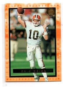 Eric Zeier Trading Card 1996 Fleer Ultra #187 FI