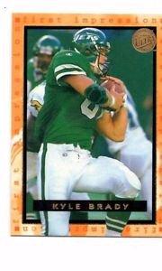 Kyle Brady Trading Card 1996 Fleer Ultra #180 Jets