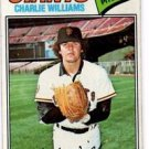 Charlie Williams Trading Card 1977 Topps #73 Giants