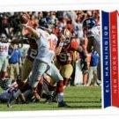 Eli Manning Trading Card Single 2013 Score #137 Giants