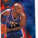 Jocque Vaughn Trading Card 1997 Wheels Rookie Thunder #26