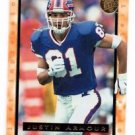 Justin Armour Trading Card 1996 Fleer Ultra 179 Bills