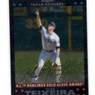 Mark Teixeira Trading Card Single 2007 Topps Chrome #264 Rangers AW