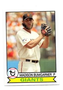 Madison Bumgarner Trading Card Single 2016 Topps Archives #119 Giants