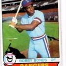 Bobby Bonds Trading Card Single 1979 Topps #285 Rangers NMT