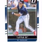 Omar Vizquel Little O Nickname Variation SP 2016 Donruss #191 Indians