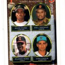 Kevin Young Adell Davenport Eduardo Perez Lou Lucca RC 1993 Topps 494