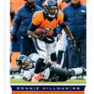 Ronnie Hillman Trading Card Single 2013 Score #186 49ers
