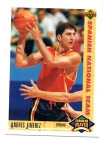 Andres Jimenez 1991-92 Upper Deck International Spanish 130