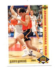 Alberto Herreros 1991-92 Upper Deck International Spanish 129