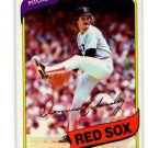 Dennis Eckersley Trading Card Single 1980 Topps #320 Red Sox NMT