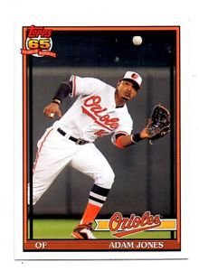 Adam Jones Trading Card Single 2016 Topps Archives 214 Orioles