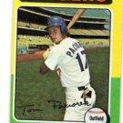 Tom Paciorek Trading Card Single 1975 Topps #523 Dodgers VGEX