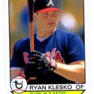 Ryan Klesko Trading Card 2016 Topps Archives 167 Braves