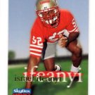 Israel Ifeanyi Trading Card Single RC 1996 Skybox Impact #61 49ers