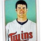 Joe Mauer Trading Card Single 2010 Topps 206 #218 Twins