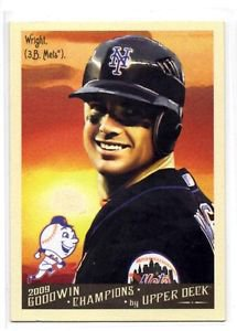 David Wright Trading Card Single 2009 Goodwin Champions #72 Mets