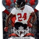Dominique Franks RC Trading Card Single 2010 Panini Crown Royale #131 Falcons