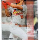 Kolten Wong Trading Card Single 2016 Topps Finest #92 Cardinals