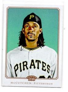 Andrew McCutchen Trading Card Single 2010 Topps 206 #275 Pirates