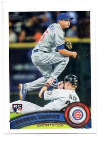 Darwin Barney RC Trading Card Single 2011 Topps #347 Cubs