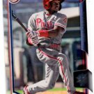 Roman Quinn Trading Card Single 2015 Bowman Draft #102 Phillies
