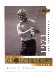 Jack Nicklaus Trading Card Single Golden Bear 2001 Upper Deck  #114