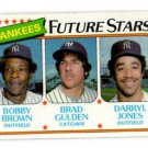 Bobby Brown Brad Gulden Darryl Jones RC Trading Card Single 1980 Topps  #670