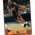 Caron Butler Trading Card Single 2003-04 Topps #141 Heat