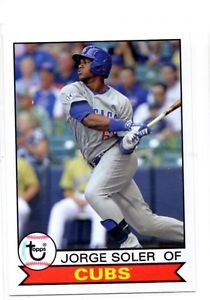 Jorge Soler Trading Card 2016 Topps Archives 169 Cubs