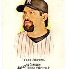 Todd Helton Trading Card 2008 Topps Allen & Ginter #131 Rockies