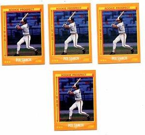 Pete Stanciek Trading Card Lot of (4) 1988 Score #628 Orioles