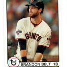 Brandon Belt Trading Card 2016 Topps Archives 170 Giants