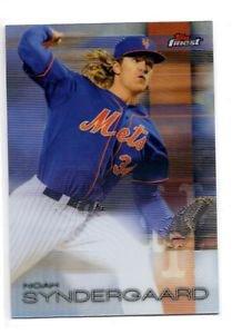 Noah Syndergaard Refractor Trading Card 2016 Topps Finest #49 Mets
