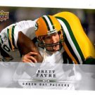 Brett Favre Trading Card Single 2008 UD First Edition #56 Packers