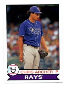 Chris Archer Trading Card Single 2016 Topps Archives #124 Rays
