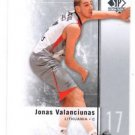 Jonas Valanciunas Trading Card Single 2011-12 SP Authentic #39