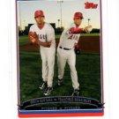 Ervin Santana Francisco Rodriguez Trading Card 2006 Topps #660 Angels