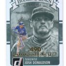 Josh Donaldson Diamond Kings Stat Line 2016 Donruss #29 Blue Jays 049/400