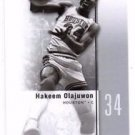 Hakeem Olajuwon Trading Card Single 2011-12 Upper Deck SP Authentic #12