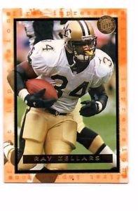 Ray Zellars Trading Card 1996 Fleer Ultra 188 Saints