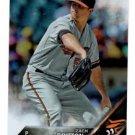 Zach Britton Rainbow Foil Trading Card SIngle 2016 Topps #63 Orioles