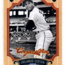 Orlando Cepeda Trading Card Single 2012 Panini Cooperstown #118 Blues