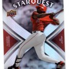 Vladimir Guerrero Starquest Super Rare Trading Card 2009 Upper Deck #SQ60 Angels