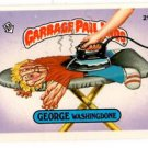 George Washingdone Sticker 1986 Topps Garbage Pail Kids #219a